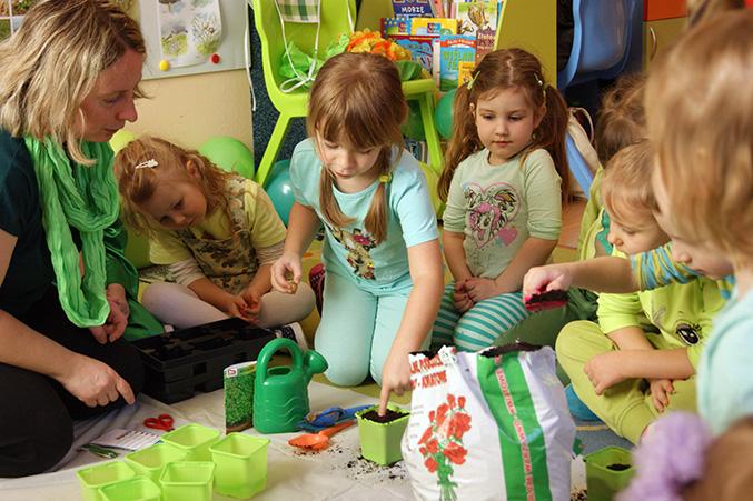 Mali ogrodnicy - warsztaty dla przedszkolaków
