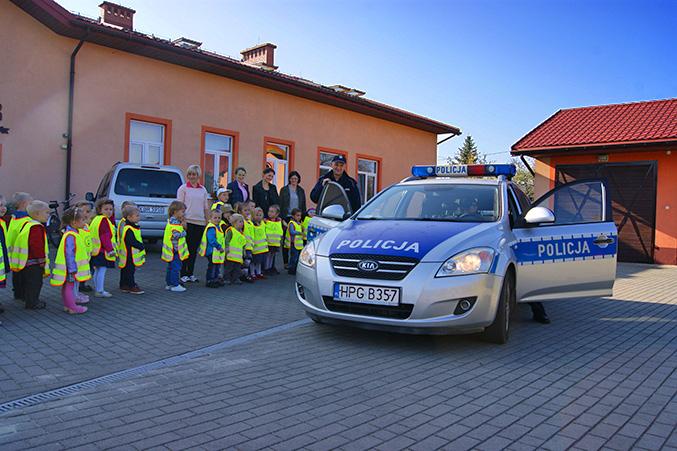 Spotkanie z panami policjantami