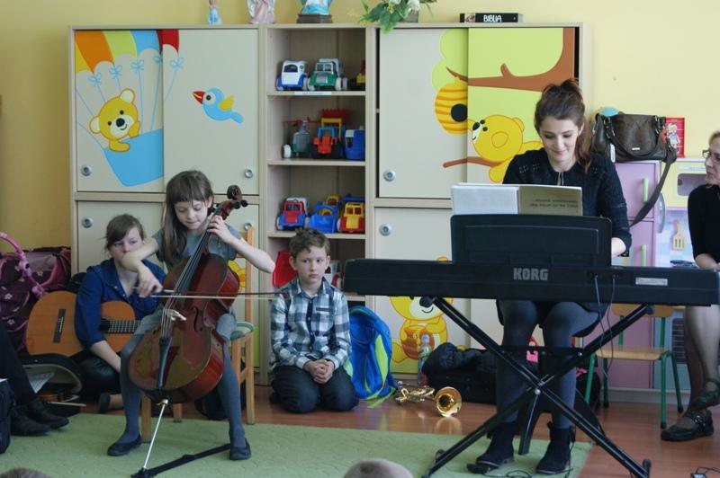 Goście ze szkoły muzycznej