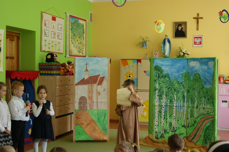 Żywot św. Wojciecha - akademia w przedszkolu