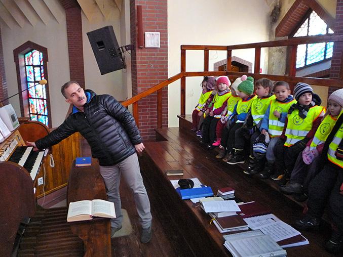 Spotkanie z panem organistą