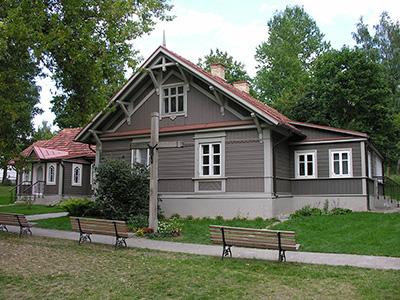 """Dom, w którym mieszkała Faustyna Kowalska w Wilnie {Źródło: Wikimedia Commons na licencji CC BY-SA 3.0 - praca własna użytkownika """"Bonio""""}"""